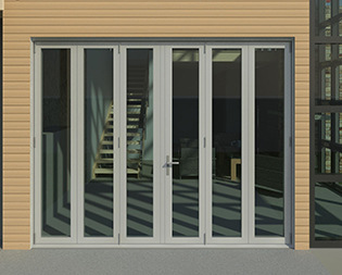 Series 3600-T Top Hung Thermal Folding Door System & Fleetwood - Series 3600-T Luxury Folding Door